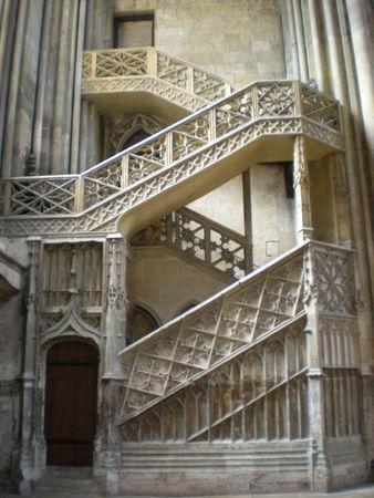 escalier rouen