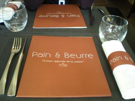 restaurant pain et beurre
