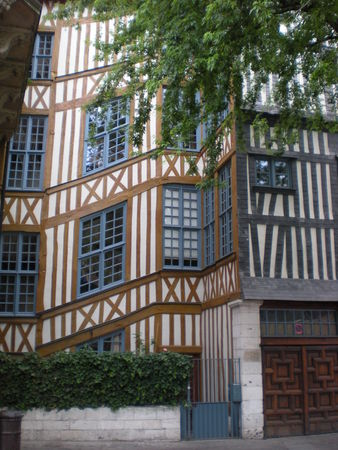 rouen colombage