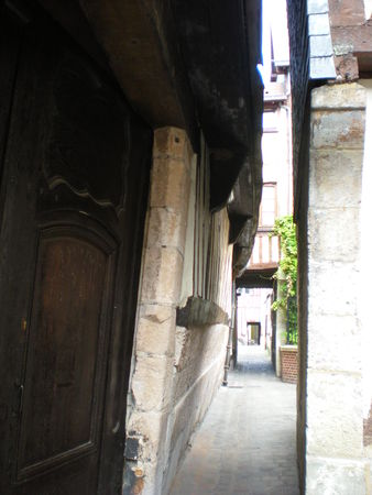 rouen rue etroite