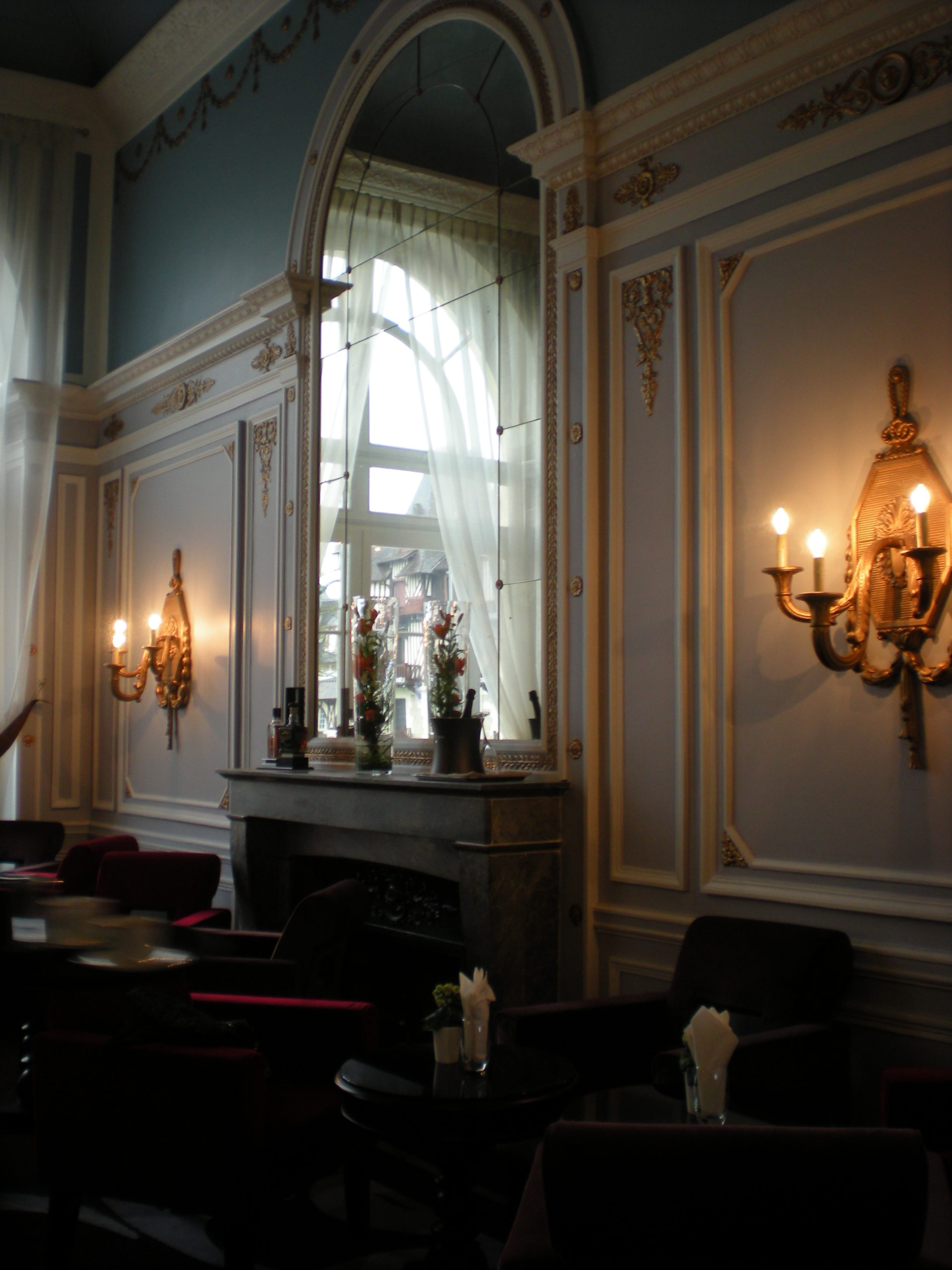 restaurant grand hotel cabourg