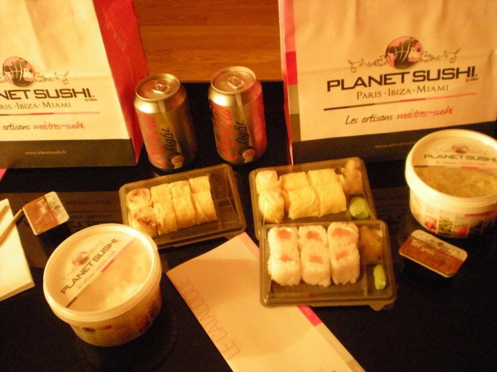 livraison planet sushi caen