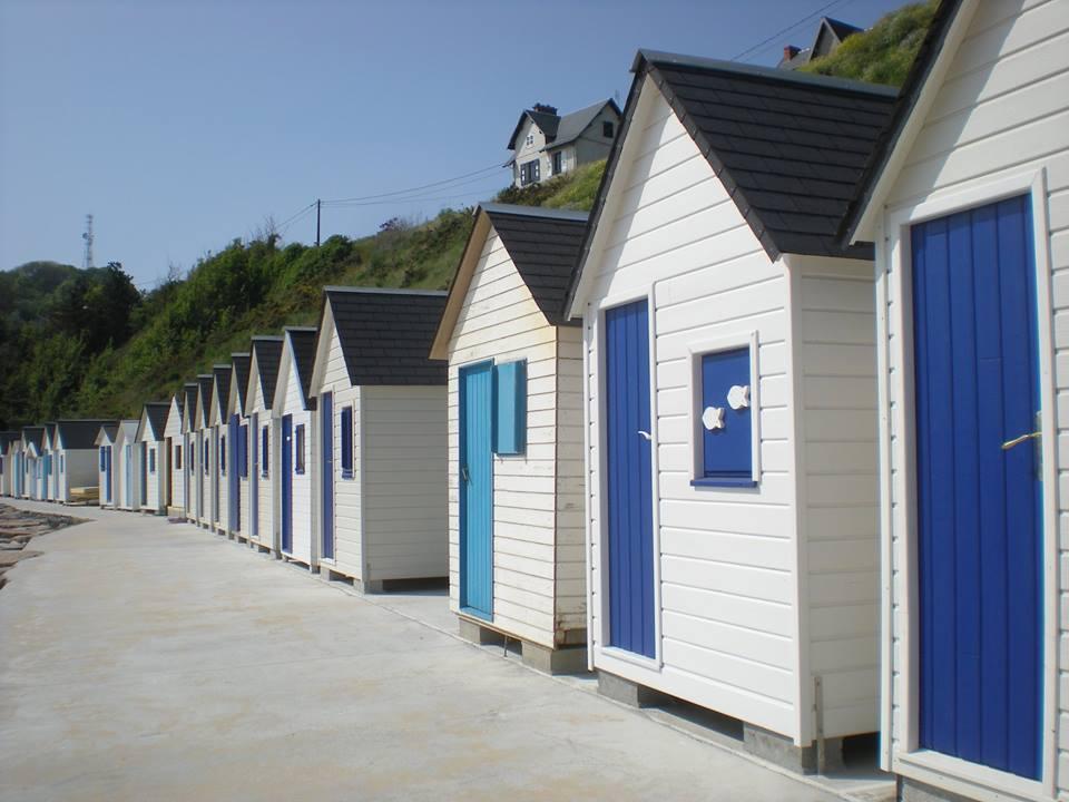 cabine de plage carteret