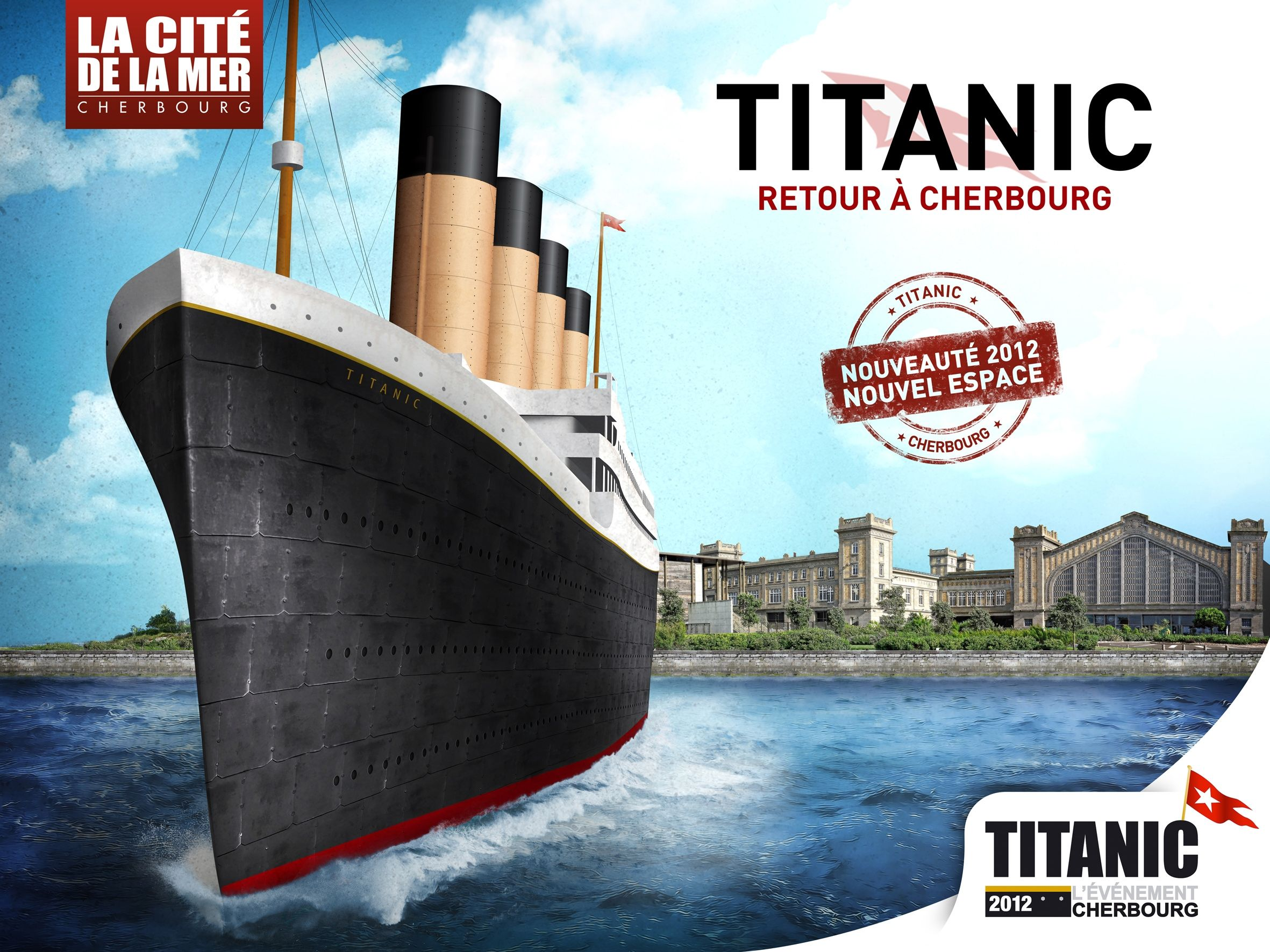titanic retour a cherbourg