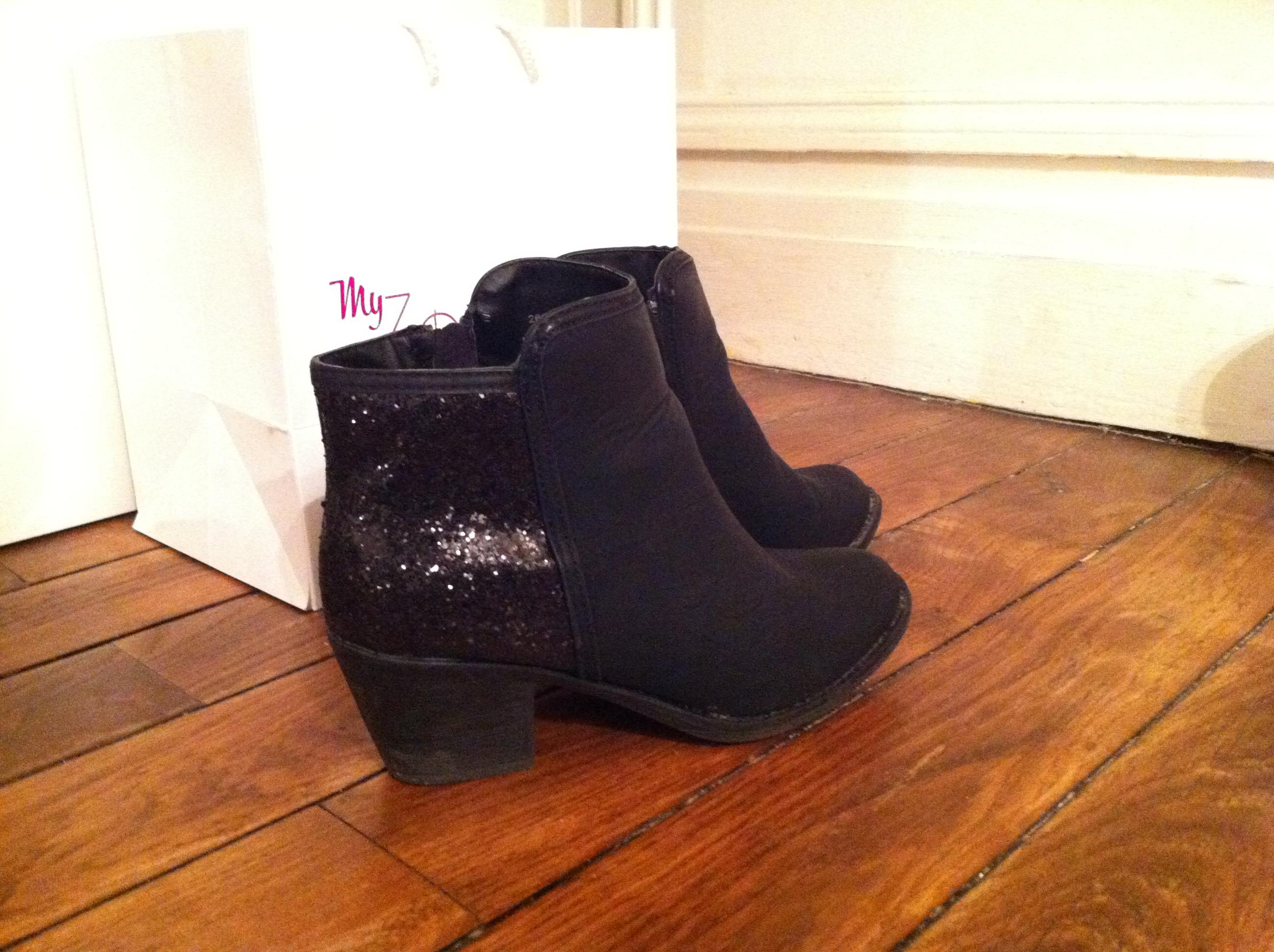 boots glitter new look