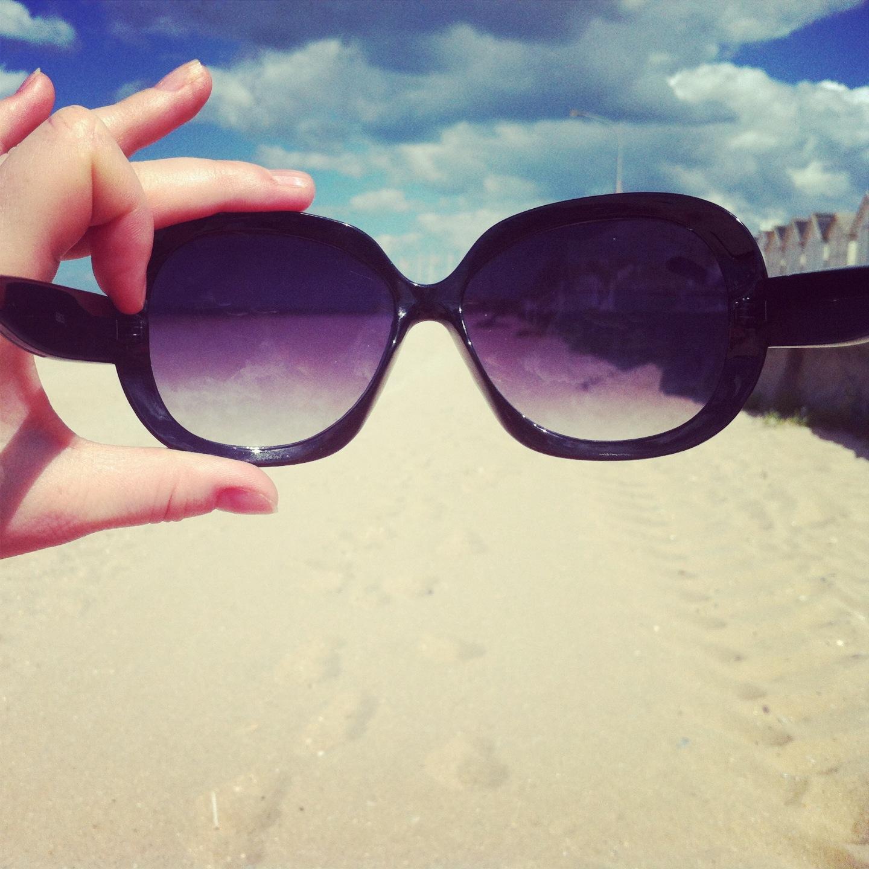 lunettes de soleil ray ban plage