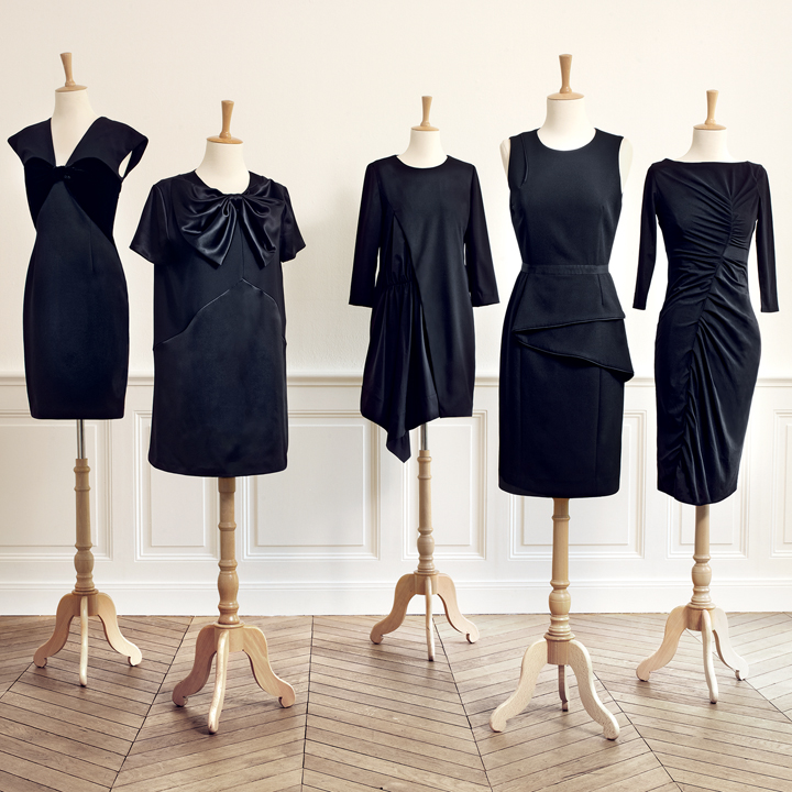 les 5 petites robes noires de couturier pour monoprix