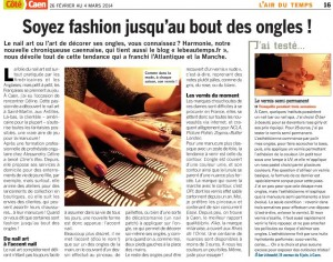 Côté Caen ongles