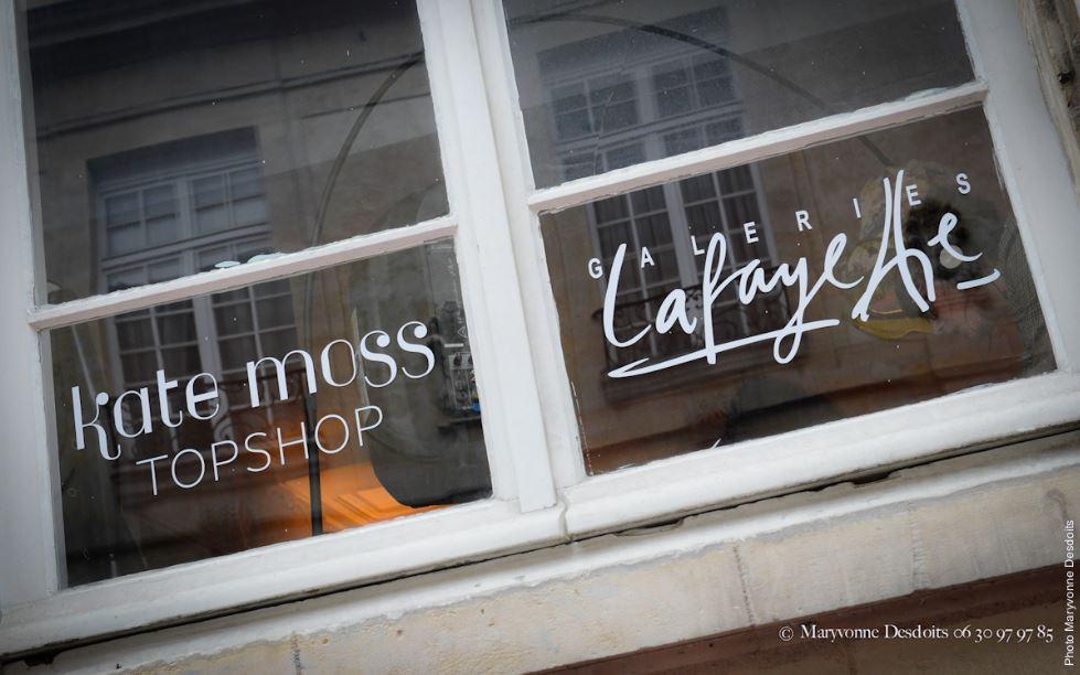 Galeries Lafayette Caen Kate Moss Topshop 3