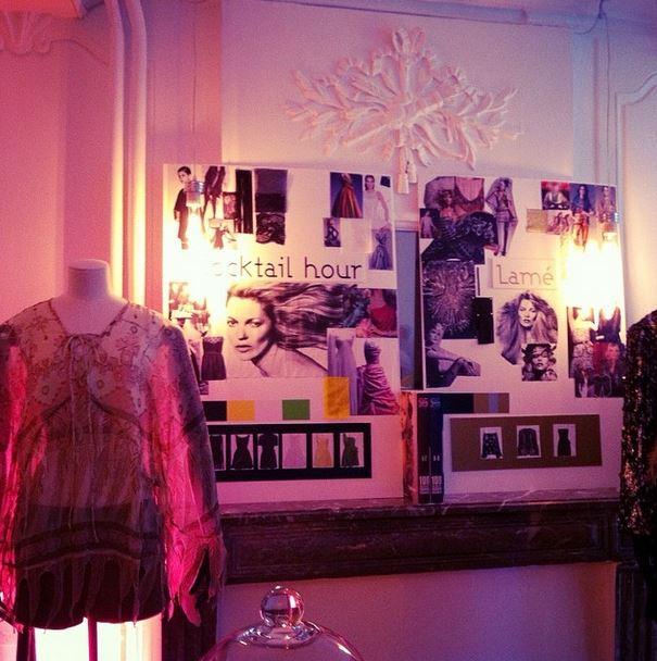 Kate Moss Topshop galeries lafayette caen
