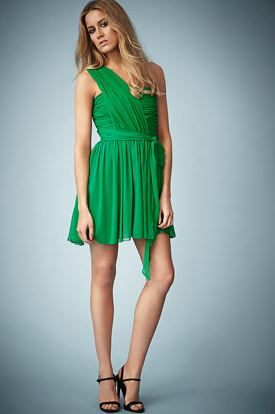Kate moss topshop green dress