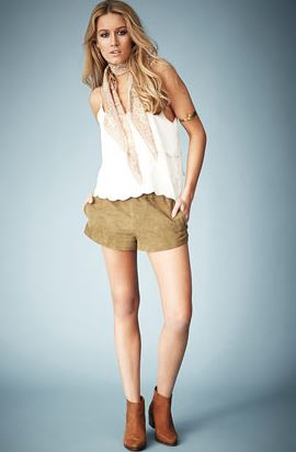 Kate moss topshop short