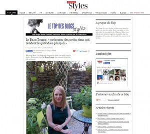 Top des blogs styles express