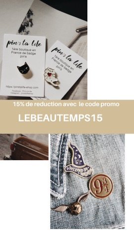 code promo boutique pins ta life