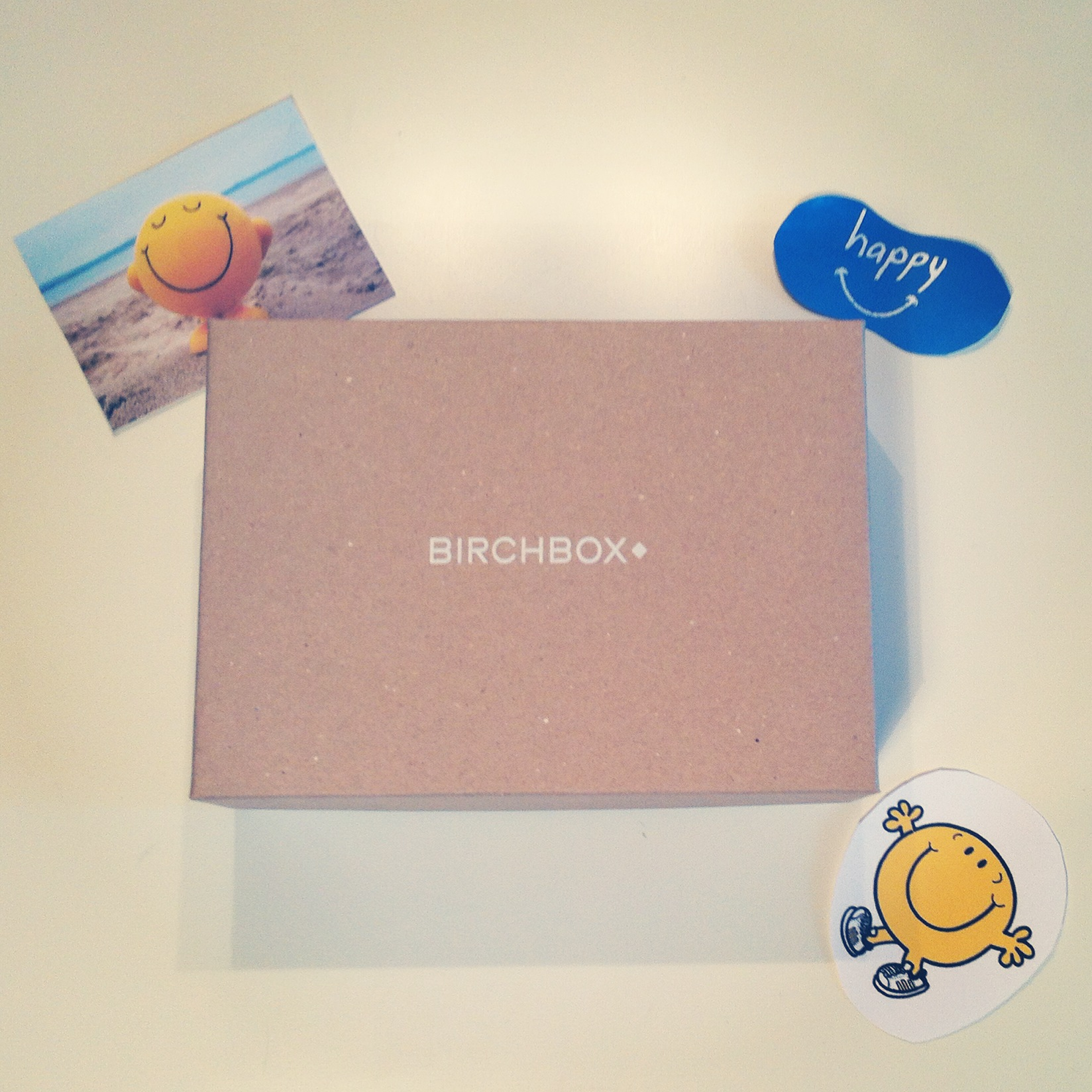 Birchbox de Juin be happy