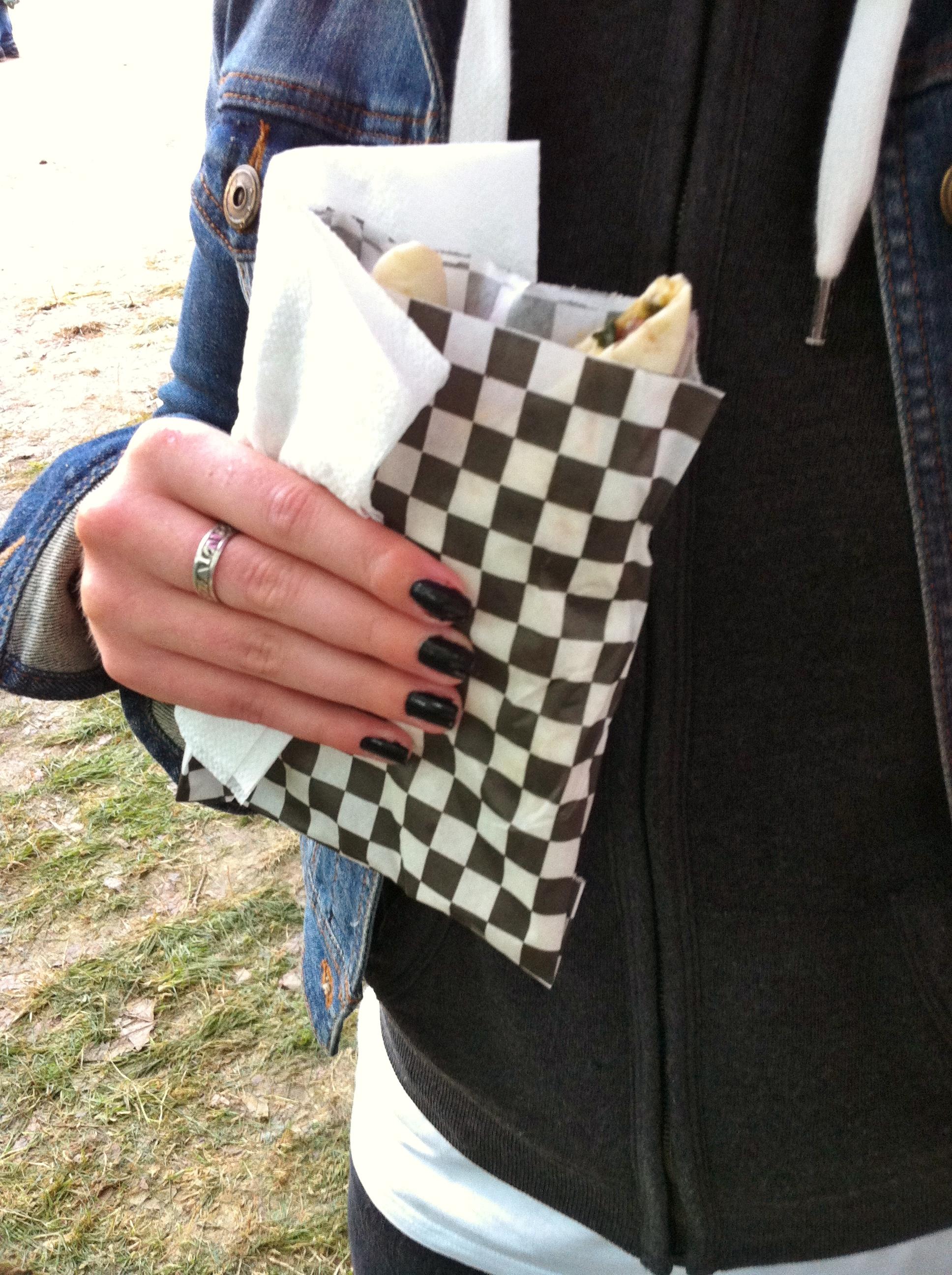 festival beauregard wrap o greedy guts