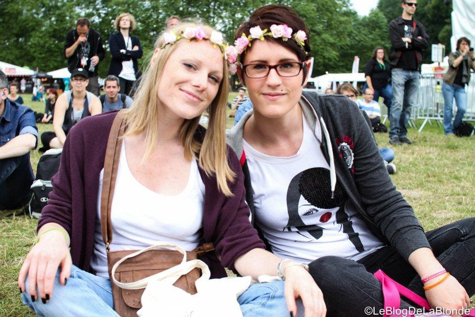 Photo prise par Le Blog de la Blonde au festival de Beauregard