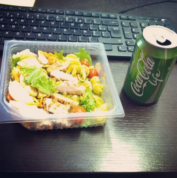 coca cola life déjeuner