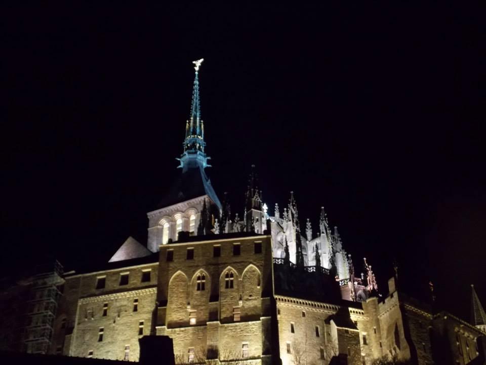 mont saint michel de nuit 1