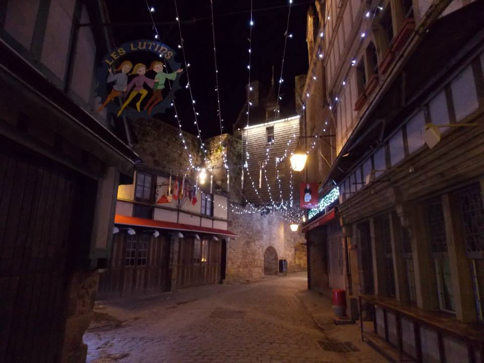 mont saint michel de nuit 6