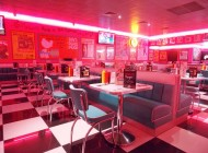 Ambiance 50's chez Tommy's diner Caen (Mondeville) + CONCOURS