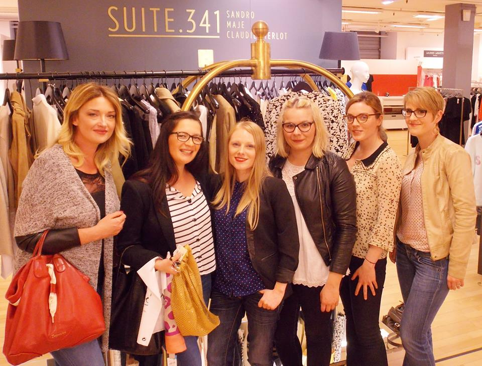 soiree lectrices blogueuses galeries lafayette caen