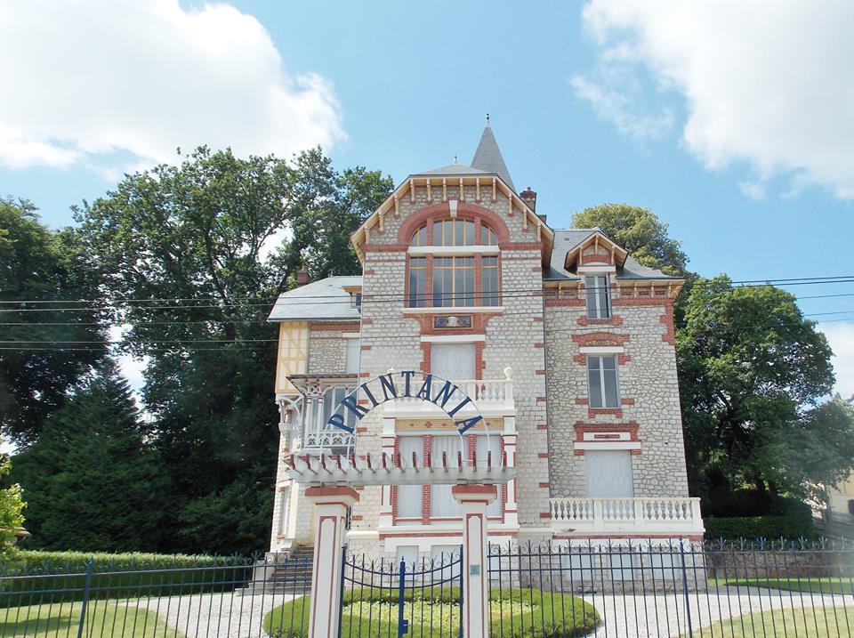 architecture belle epoque villa printania bagnoles de l'orne