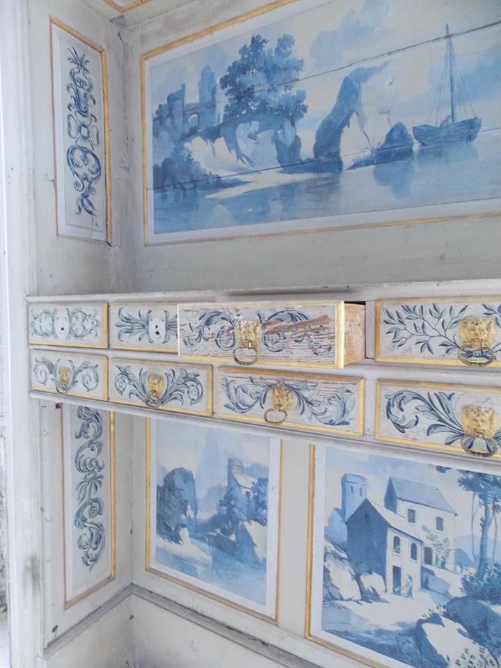 chambre bleue ravalet