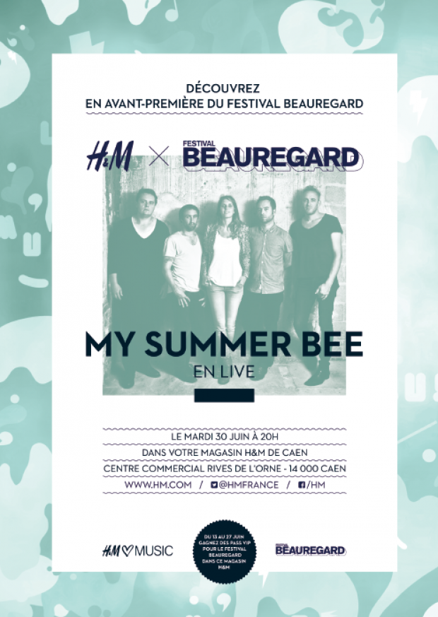 my summer bee h&m caen