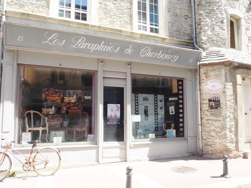 boutique des parapluies de cherbourg