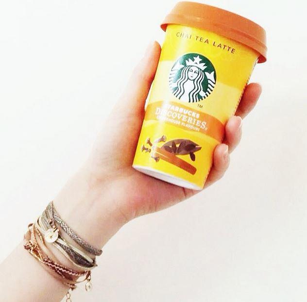 starbucks discoveries chai tea latte