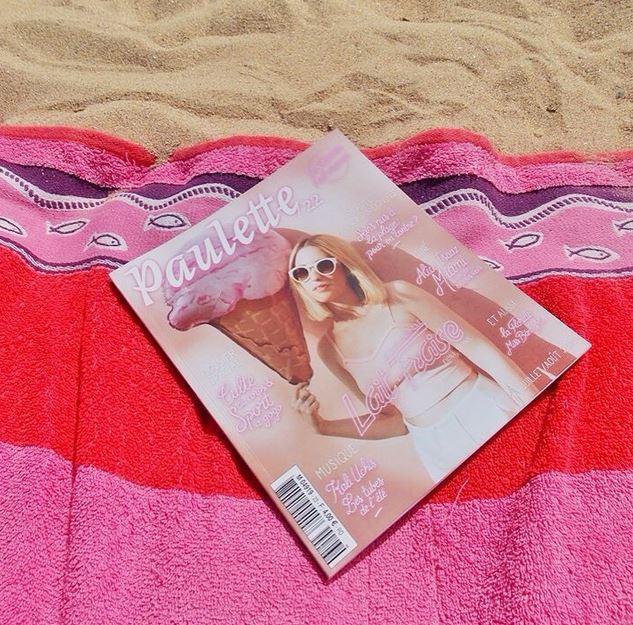 paulette magazine lait fraise