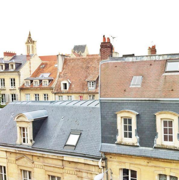Caen toits