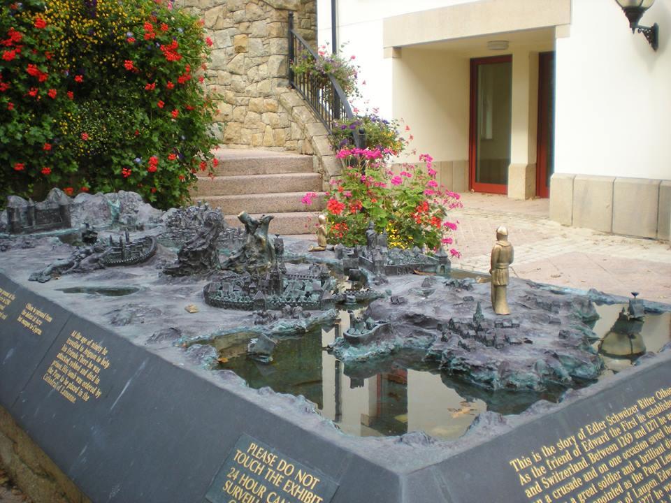 guernsey statue