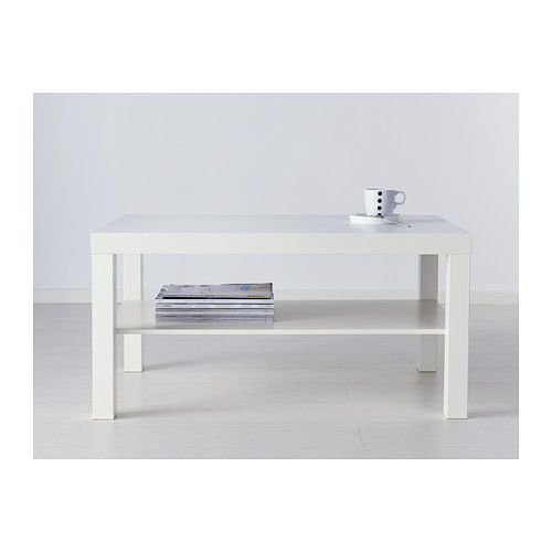 LACK Table basse blanche 19.95€ Ikea