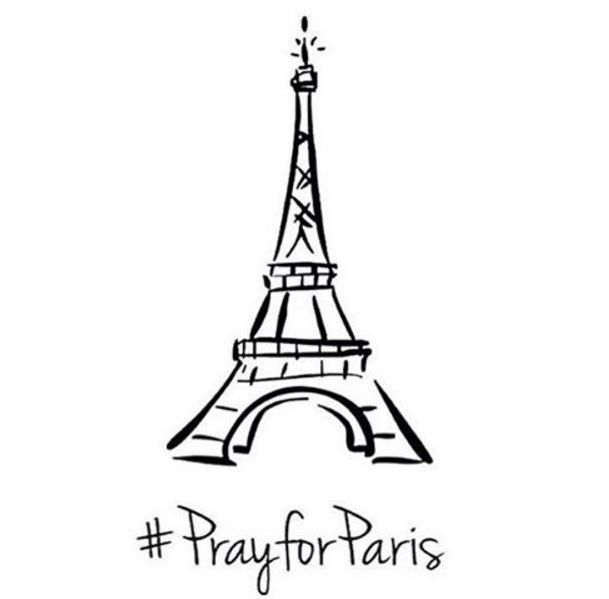 paris pray for paris