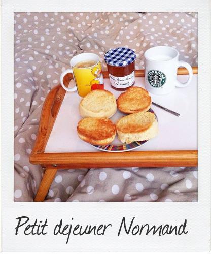 petit dejeuner normandie