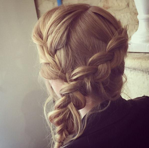 coiffure romantique