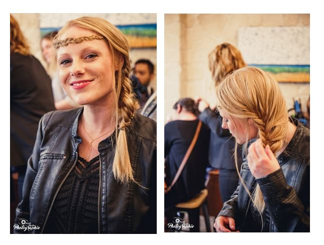 coiffure soirée stella and dot