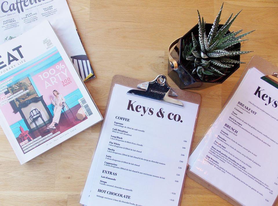 keys and co coffee shop