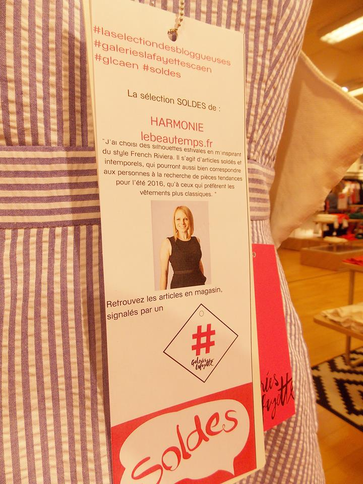 selection soldes galeries lafayette blogueuses caen