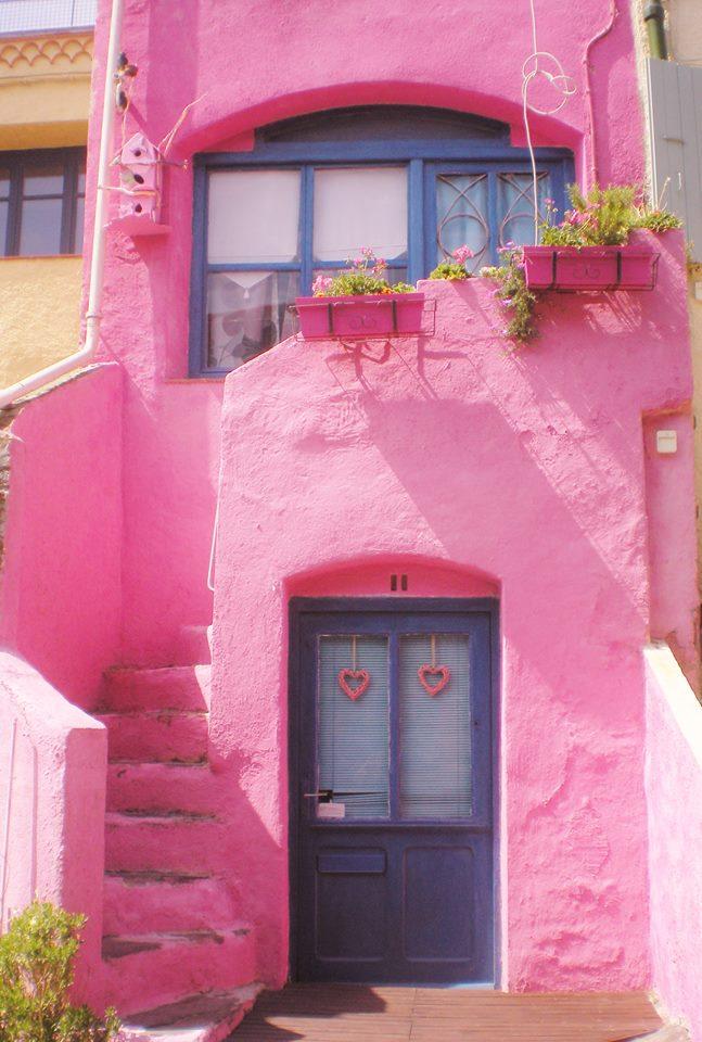 collioure maison rose