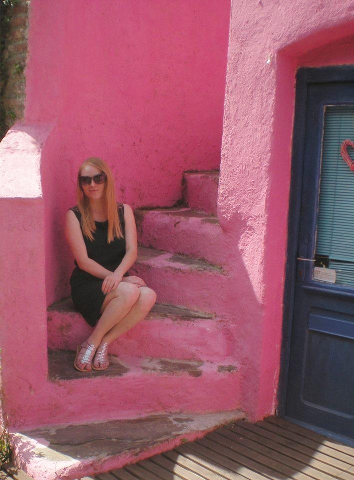 maison rose collioure