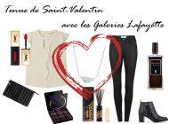 Tenue de Saint Valentin avec les Galeries Lafayette