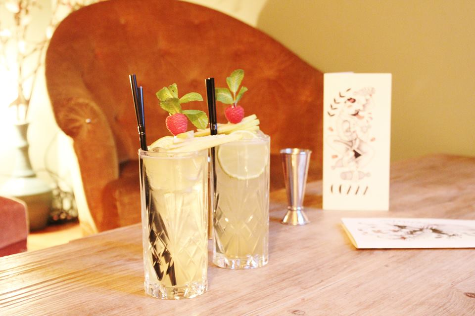 cocktails au calvados La Mome caen