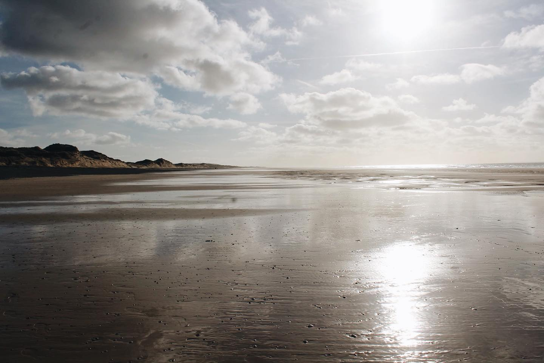 plage dans le cotentin