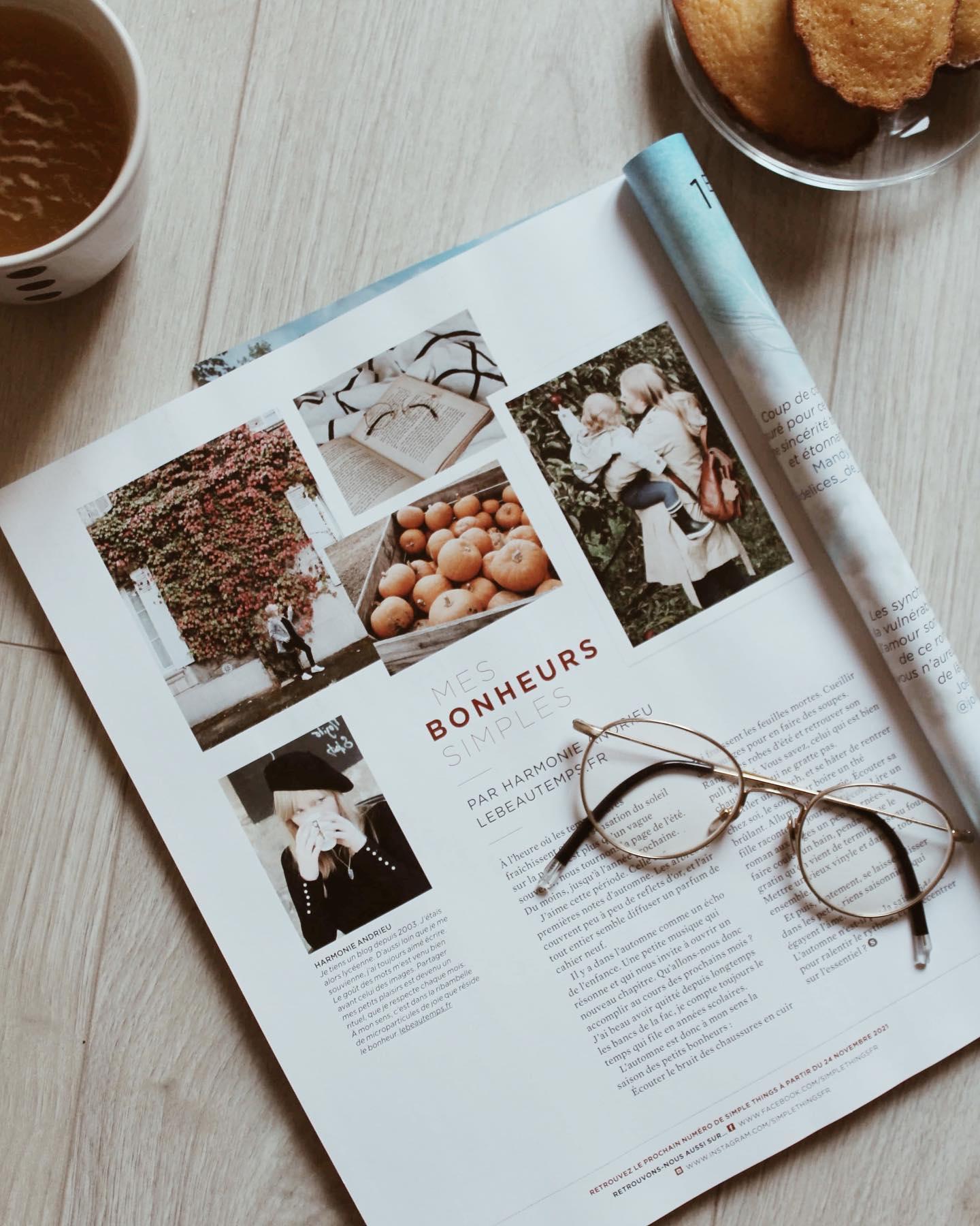 mes petits bonheurs magazine simple things